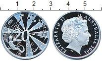 Изображение Монеты Австралия 20 центов 2001 Медно-никель Proof