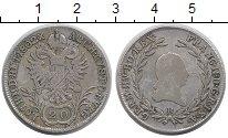 Изображение Монеты Австрия 20 крейцеров 1802 Серебро XF- Франц II (следы юсти