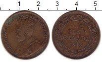 Изображение Монеты Северная Америка Канада 1 цент 1919 Медь VF