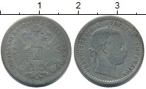 Изображение Монеты Европа Австрия 10 крейцеров 1868 Серебро VF