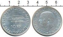 Изображение Монеты Европа Швеция 10 крон 1972 Серебро UNC-