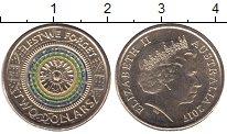 Изображение Мелочь Австралия и Океания Австралия 2 доллара 2017 Латунь UNC-