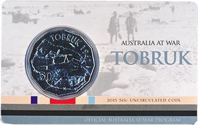 Изображение Монеты Австралия и Океания Австралия 50 центов 2015 Медно-никель UNC