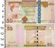 Изображение Банкноты Ливия 50 динар 0  UNC