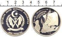 Изображение Монеты Африка Сахара 500 песет 1990 Серебро Proof
