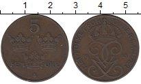 Изображение Монеты Европа Швеция 5 эре 1921 Бронза XF