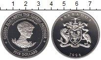 Изображение Монеты Северная Америка Барбадос 5 долларов 1994 Серебро Proof