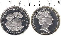 Изображение Монеты Соломоновы острова 5 долларов 1998 Серебро Proof