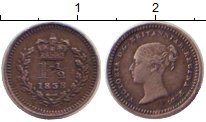 Изображение Монеты Европа Великобритания 1 1/2 пенни 1838 Серебро XF