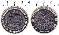Изображение Монеты Казахстан 500 тенге 2006 Серебро Proof