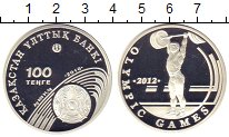 Изображение Монеты Казахстан 100 тенге 2010 Серебро Proof