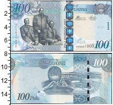 Изображение Банкноты Ботсвана 100 пул 0  UNC