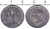Изображение Монеты Канада 5 центов 1945 Медно-никель XF