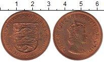 Изображение Монеты Остров Джерси 1/12 шиллинга 1966 Бронза XF 900 лет Норманским з