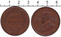 Изображение Монеты Австралия 1 пенни 1919 Бронза XF