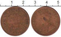 Изображение Монеты Индия 1/4 анны 1935 Бронза VF