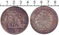 Изображение Монеты Европа Франция 50 франков 1978 Серебро UNC-