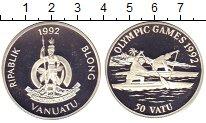 Изображение Монеты  50 вату 1992 Серебро Proof-