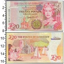 Изображение Банкноты Великобритания Гернси 20 фунтов 2012  UNC