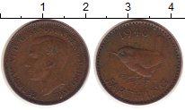 Изображение Монеты Великобритания 1 фартинг 1940 Медь XF Георг VI