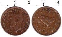 Изображение Монеты Европа Великобритания 1 фартинг 1942 Медь XF