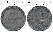 Изображение Монеты Гессен 1 талер 1841 Серебро VF