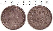 Изображение Монеты Германия Саксония 1 талер 1768 Серебро VF