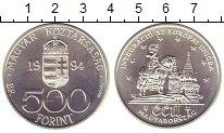 Изображение Монеты Европа Венгрия 500 форинтов 1994 Серебро UNC-