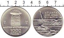Изображение Монеты Европа Венгрия 1000 форинтов 1994 Серебро UNC-