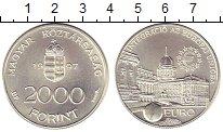Изображение Монеты Венгрия 2000 форинтов 1997 Серебро UNC-