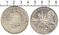 Изображение Монеты Европа Венгрия 500 форинтов 1991 Серебро UNC