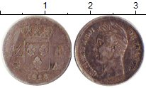 Изображение Монеты Франция 1/4 франка 1828 Серебро VF