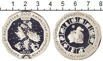 Изображение Монеты Казахстан 500 тенге 2014 Серебро Proof Год  Лошади