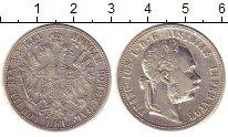 Изображение Монеты Австрия 1 флорин 1881 Серебро XF