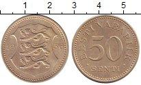 Изображение Монеты Эстония 50 сенти 1936 Медно-никель XF
