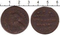 Изображение Монеты Ватикан 1 байоччи 1796 Медь VF