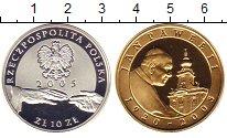 Изображение Монеты Польша 10 злотых 2005 Серебро Proof Иоан Павел II (золоч