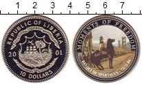 Изображение Монеты Африка Либерия 10 долларов 2001 Медно-никель UNC