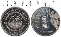 Изображение Монеты Африка Либерия 10 долларов 2006 Медно-никель UNC