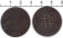 Изображение Монеты Испания Барселона 4 кварты 1813 Медь VF