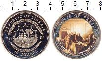 Изображение Монеты Либерия 10 долларов 2001 Медно-никель UNC