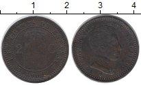 Изображение Монеты Испания 2 сентима 1905 Бронза XF