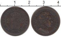 Изображение Монеты Испания 2 сентима 1904 Бронза XF Альфонсо XIII