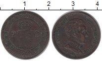 Изображение Монеты Испания 2 сентима 1905 Бронза XF Альфонсо XIII