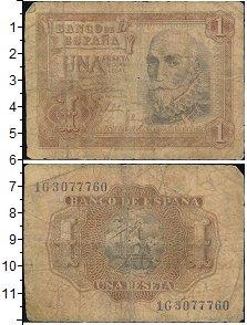 Изображение Банкноты Европа Испания 1 песета 1953