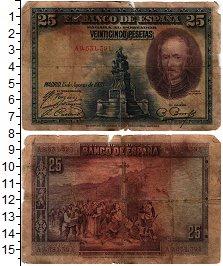 Изображение Банкноты Испания 25 песет 1928  VF-
