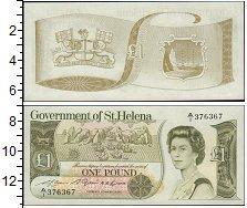 Изображение Банкноты Великобритания Остров Святой Елены 1 фунт 1981  UNC