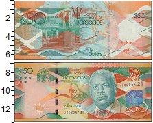 Изображение Банкноты Северная Америка Барбадос 50 долларов 2016  UNC