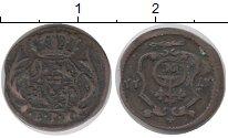 Изображение Монеты Германия Саксония 1 пфенниг 1711 Серебро VF