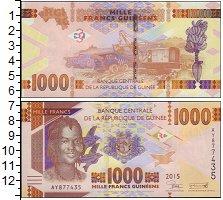 Изображение Банкноты Африка Гвинея 1000 франков 2015  UNC